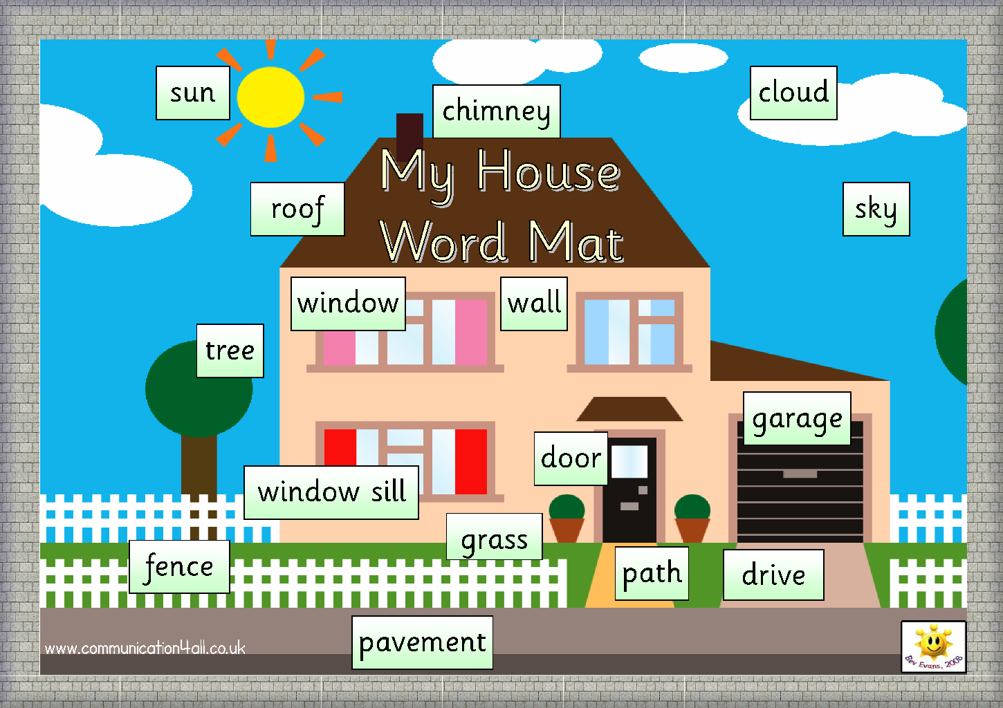 English teachers resources and ideas my house for Picture of my home