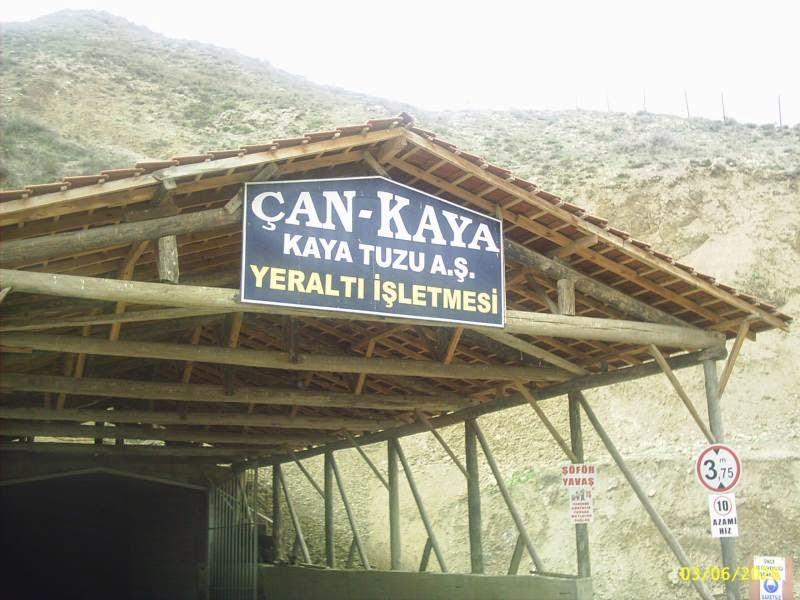 Çankırı Tuz Mağarası Girişi