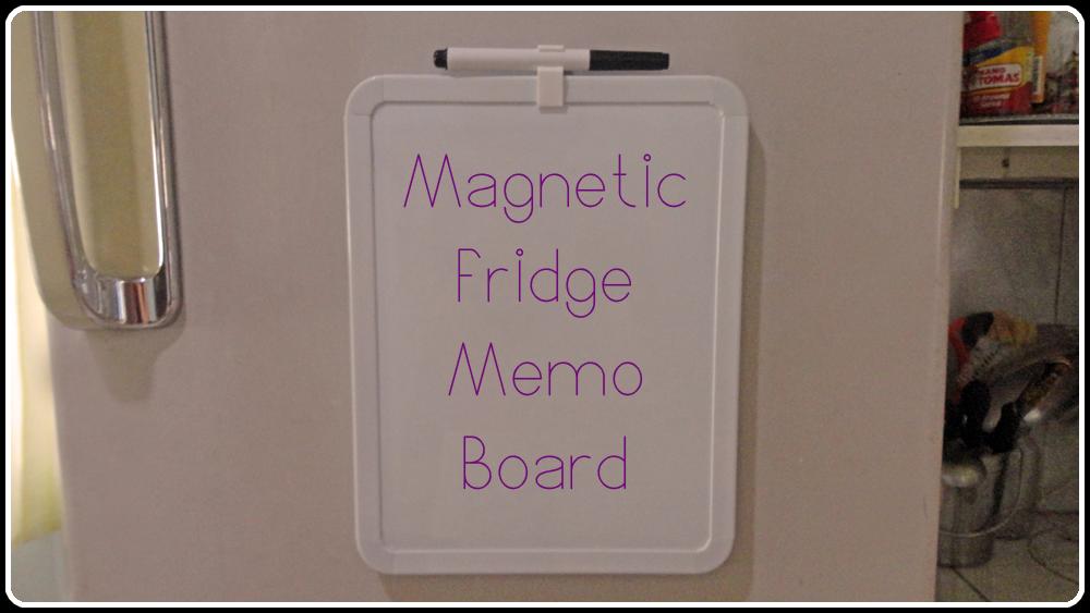 Magnetic Fridge Memo Board
