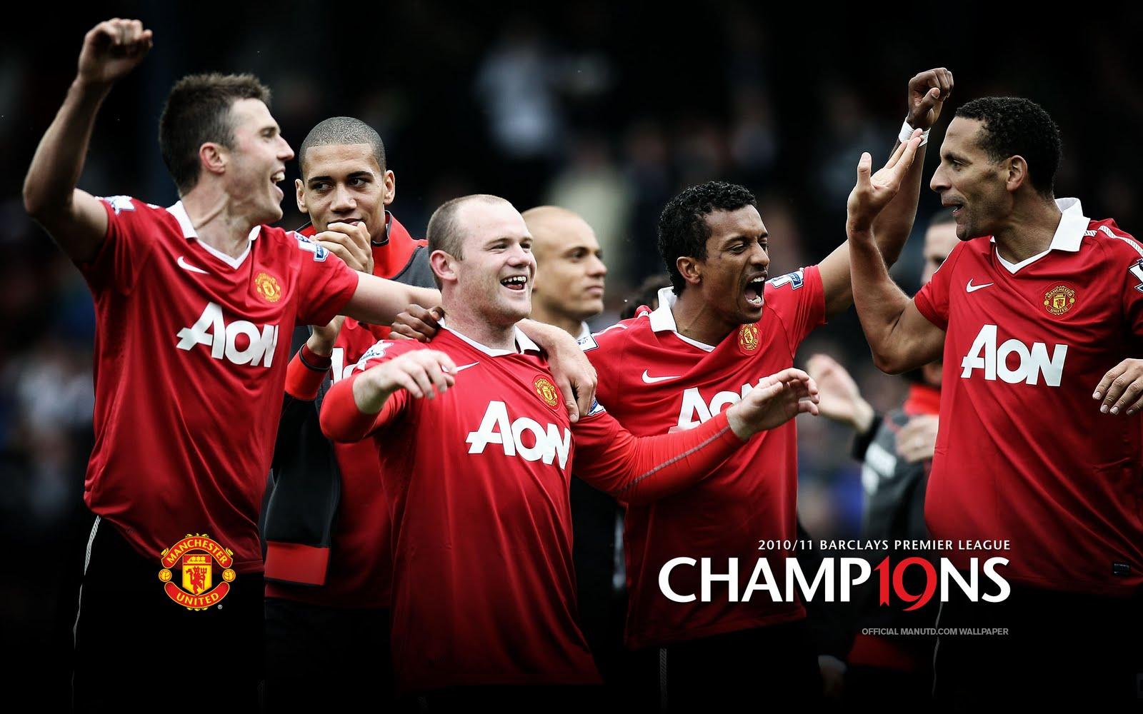 Man Utd 2010/11 Barclays Premier League Champion Man United | Malaysia ...