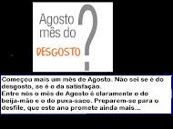 Agosto já é em Angola o mês do Culto da Personalidade