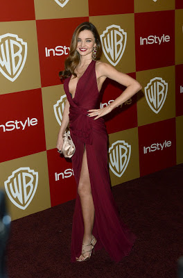 Miranda Kerr – 14th Annual Warner Bros and InStyle Golden Globes Party