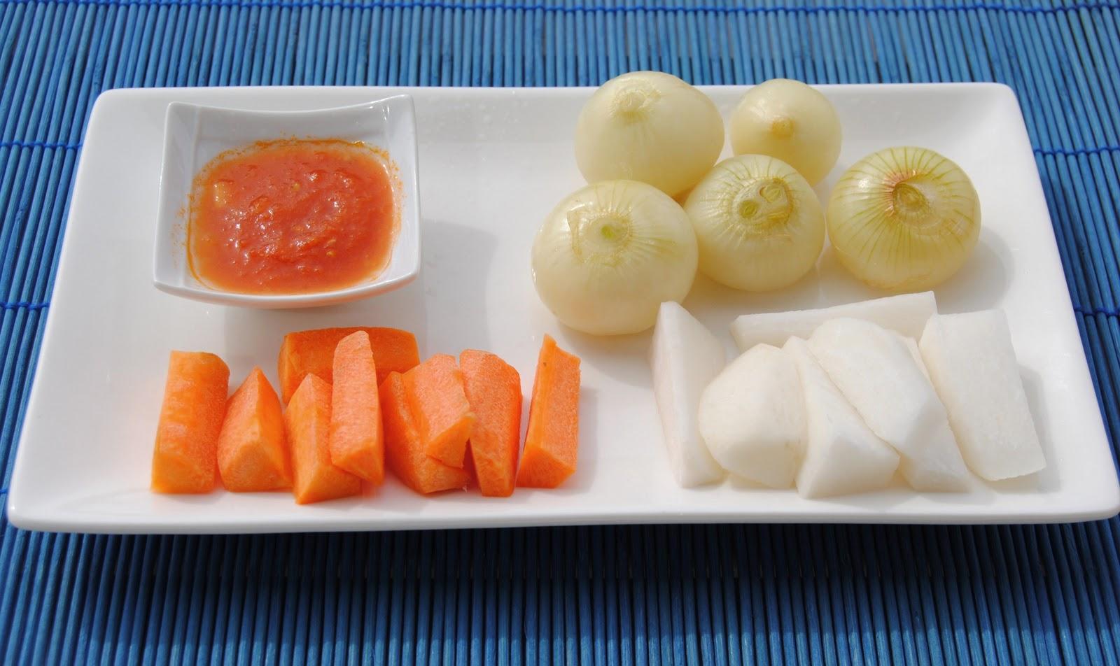 La cocina de rafa ragout de ternera con verduras y for Verduras francesas