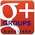 MENDAPAT BACKLINK TAK TERBATAS DARI GOOGLE PLUS (GROUPS)