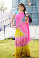 Actress-Kumkum-half-saree-Kshatriya-movie