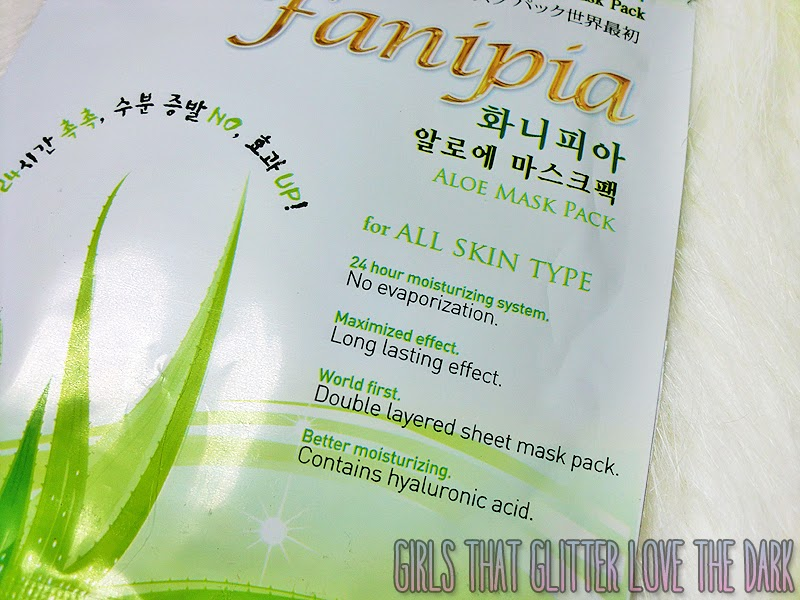 Fanipia Double Layer Aloe Mask Pack