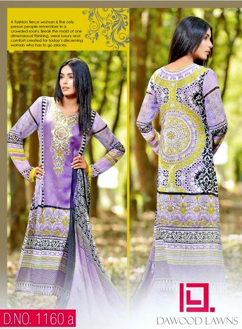 Dawood Aalishan Chiffon Lawn Collection-14 Vol-4