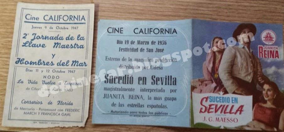 Cine California, La Paz y Romea en Binefar
