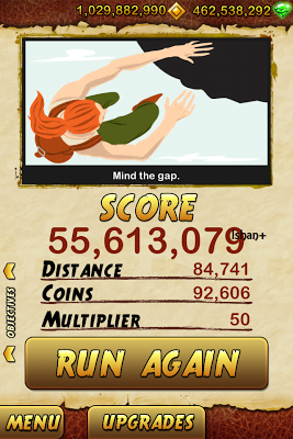 Temple Run 2 - High Score