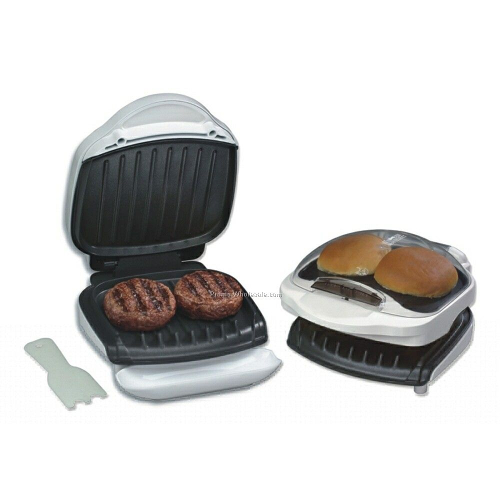 George Foreman Grill ~ The adventures of taddy long legs j money george