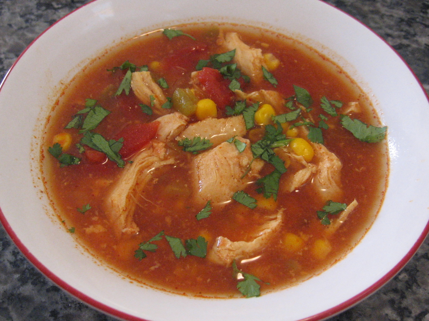 Cooking with Mandy: Slow Cooker Chicken Tortilla Soup