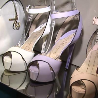 Magassarkú platform bokapántos nyári cipő - nyitott orral