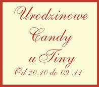 Wygrałam Candy u Tiny