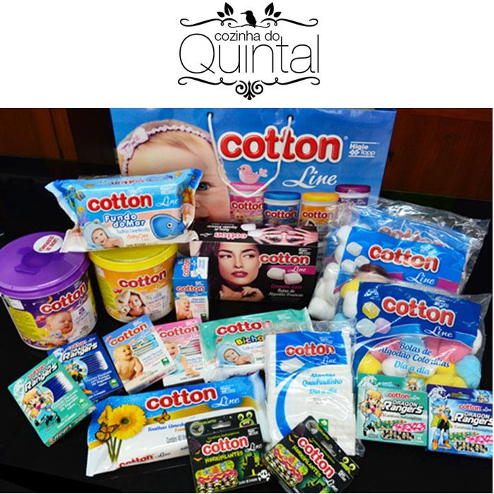 Cotton Line na Cozinha do Quintal e as amigas conectadas