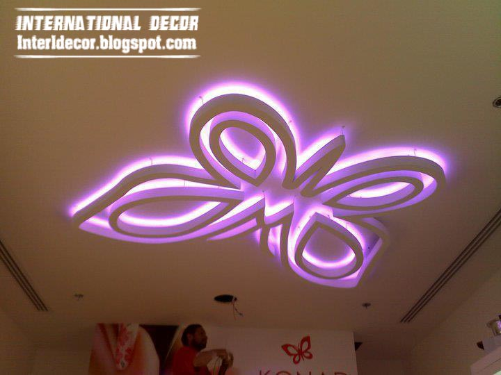 Interior design 2014 top catalog of modern false ceiling for Ceiling light for kids room