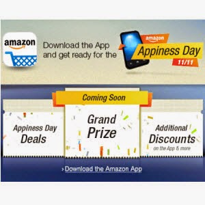 Amazon Appiness Day Deals 11th November 2014 (live)