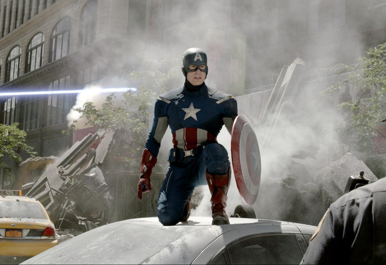PHOTODÉCOR, Avengers Citynight 4 434, Komar Marvel  - Papier Peint Marvel Avengers
