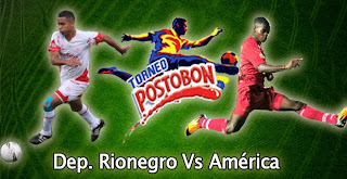 Resultado Rionegro Vs América de Cali (2-1) – Torneo Postobon