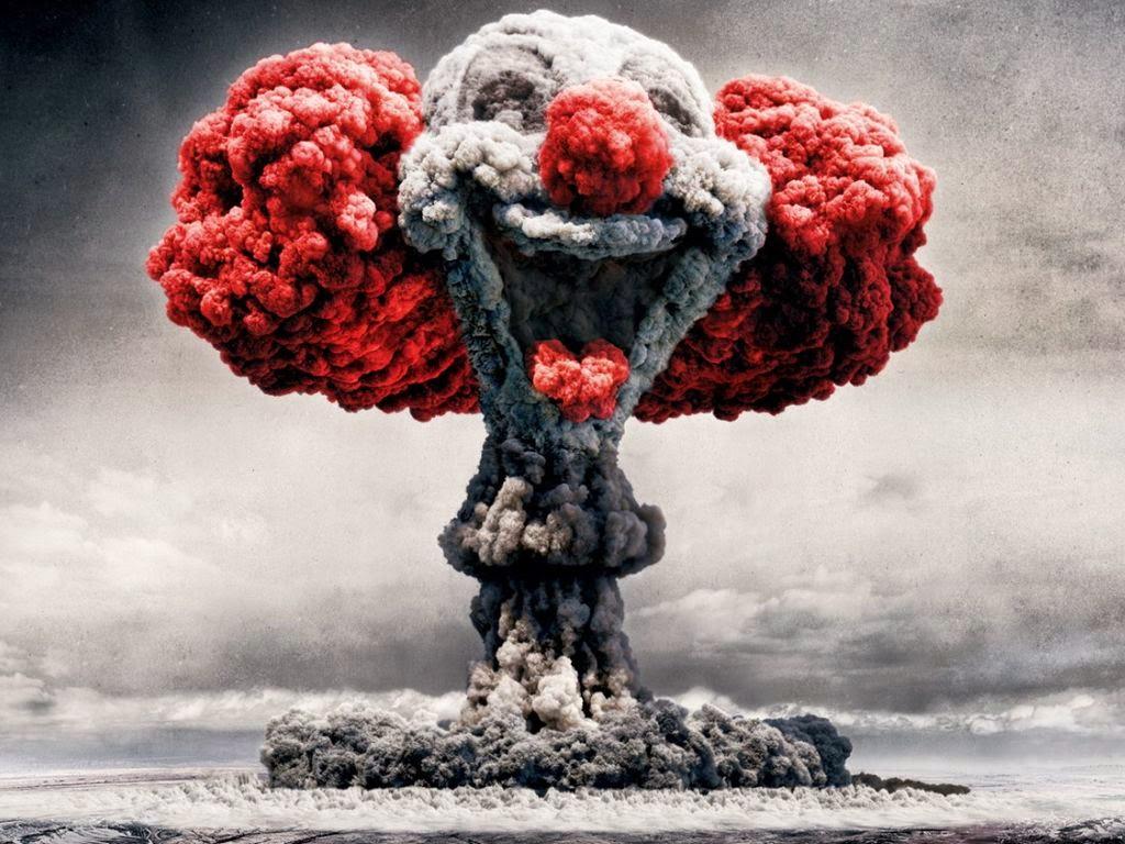 RED EANNA NEWSWEEK - MAJ 08-06-16 Clown-bomb-explosion
