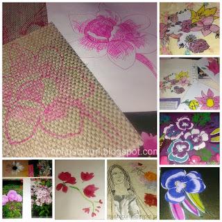 Level coursework textiles