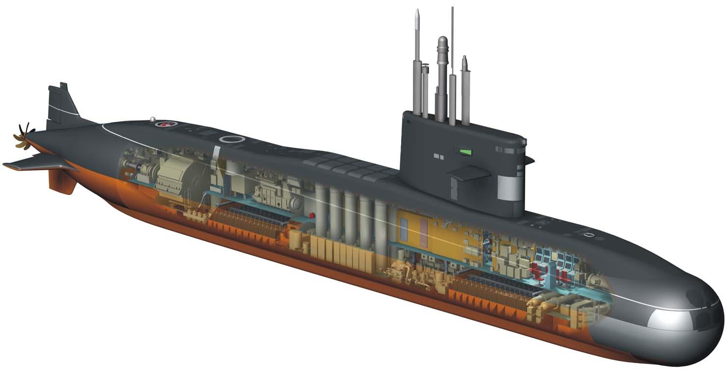 Submarinos clase Sábalo (U-209 1300) Foto