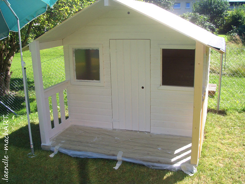 Spielhaus Holz Garten Selber Bauen ~   selber machen, gestalten, selber bauen, Anleitung, Tipps, Fundament