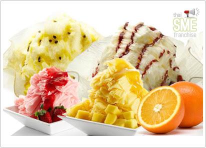 P&P Snow Milk Ice ไอศกรีมเกล็ดหิมะ ธุรกิจแรง ๆ! ในปี 53