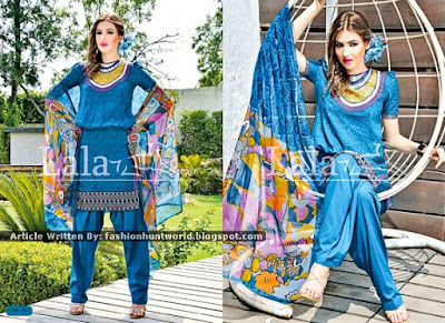 La Belleza Exclusive Chiffon Collection 2015 By Lala Textile
