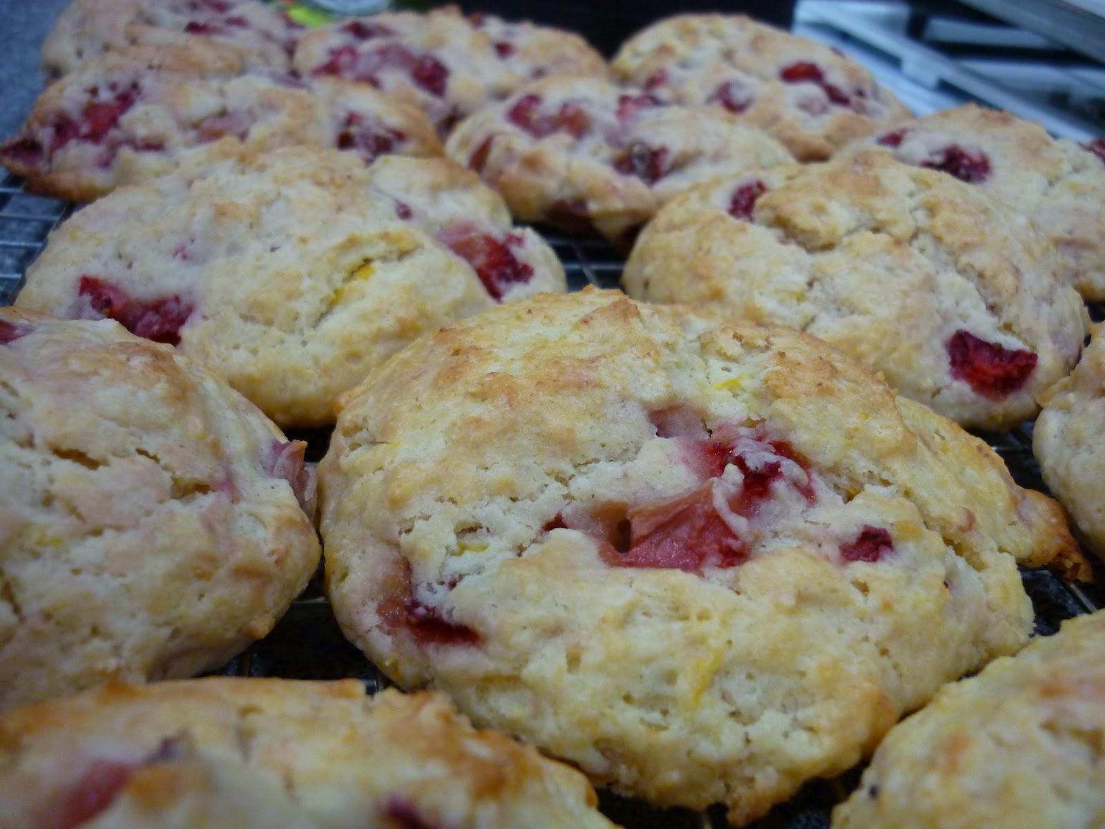 The Nerdy Chef: Strawberry Ricotta Scones