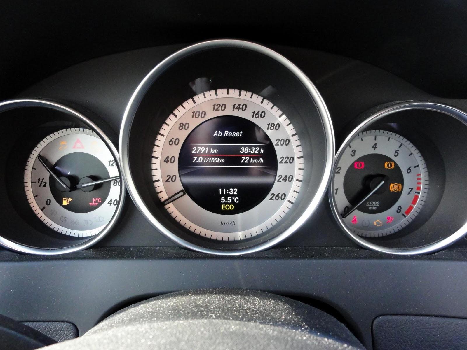 guitigefilmpjes: fuel consumption: mercedes benz c180 - 1595 cm³