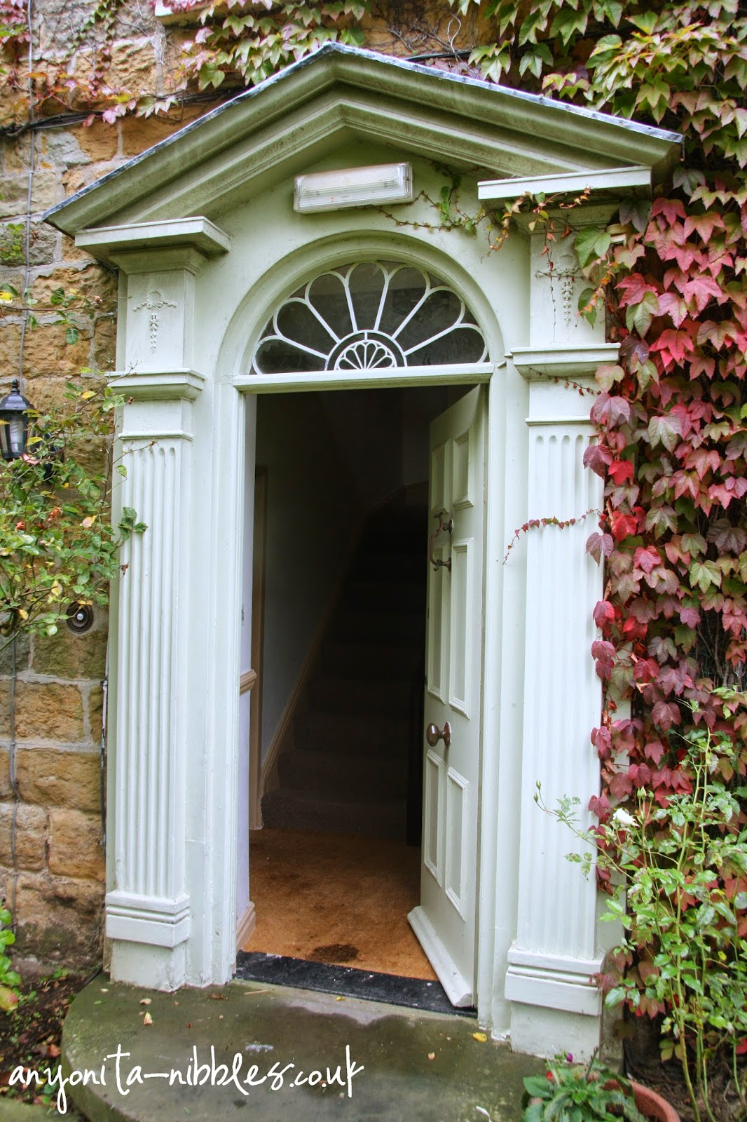 An open door creates an inviting atmosphere at Ox Pasture Hall Hotel | Anyonita-nibbles.co.uk
