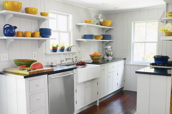 Decoração de cozinha - Acessórios coloridos na cozinha