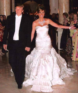 ten most expensive weddings Donald Trump and Melania Trump