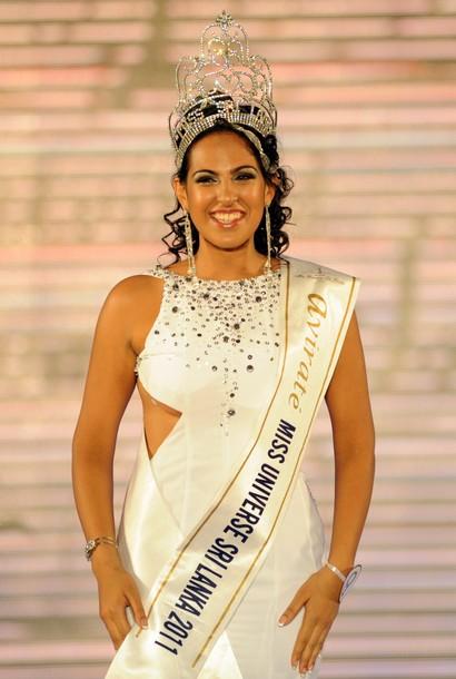 avirate miss universe sri lanka 2011 winner stephanie siriwardhana