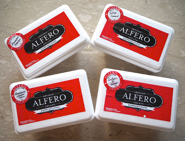 Alfero Gelato Christmas Superstars Flavours Review Lunarrive Singapore Lifestyle Blog
