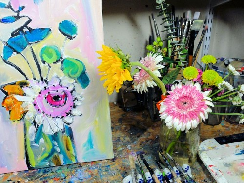 floral inspirations for artists