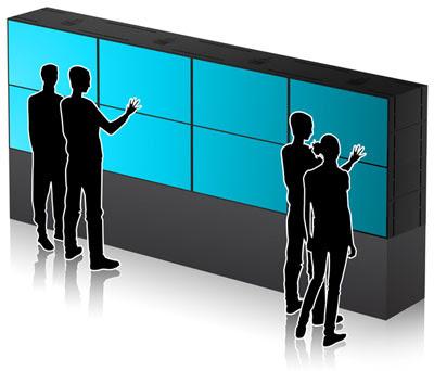 Microsoft Ciptakan Dinding Muti-Touch Ajaib
