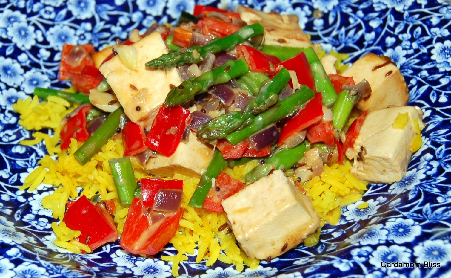 Hot and Spicy Coconut Tofu