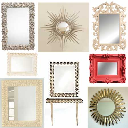 Bell Mirror & Glass: 10 Tips for Decorating with Mirror!