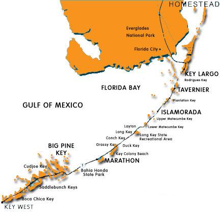Map Of Florida Similiar ıslamorada Keys