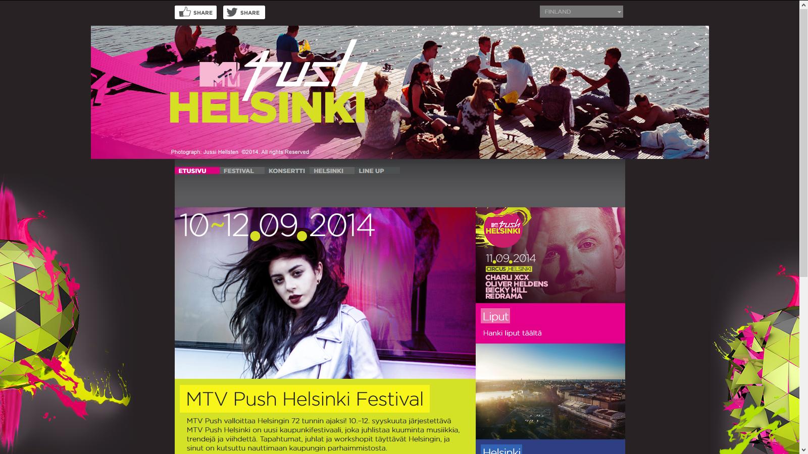 MTV Push Helsinki Festival
