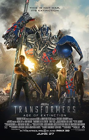 Transformers Age of Extincion poster