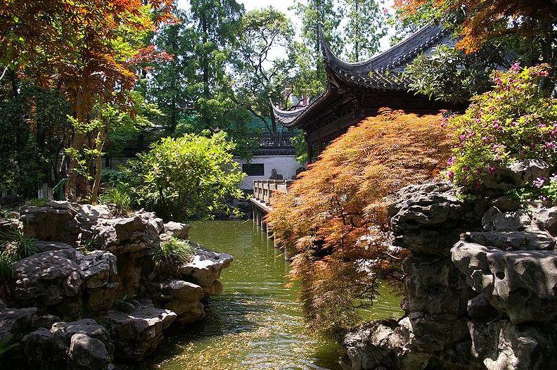 Home garden design for Chinese landscape design