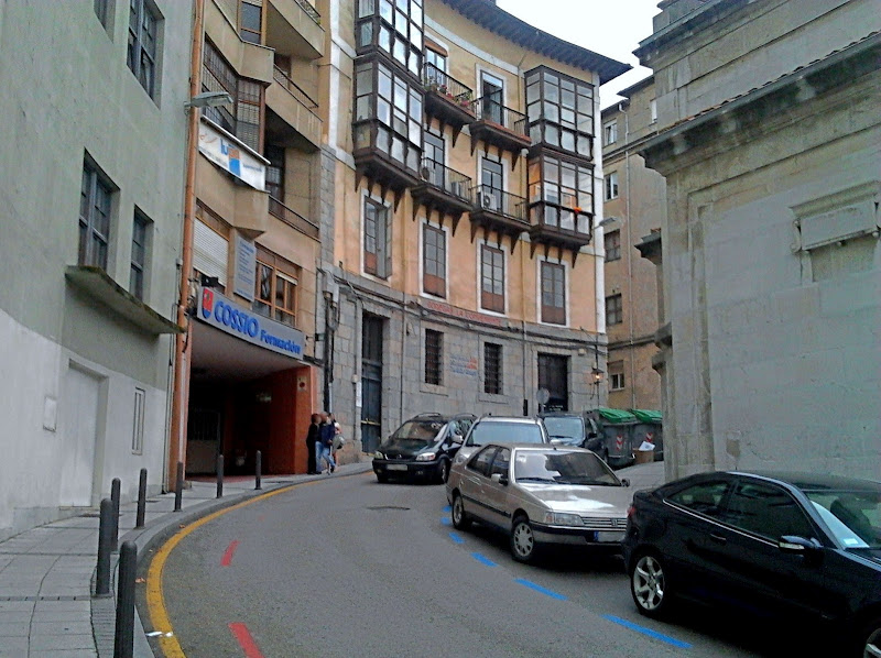 Calle de Gomez Oreña en Santander