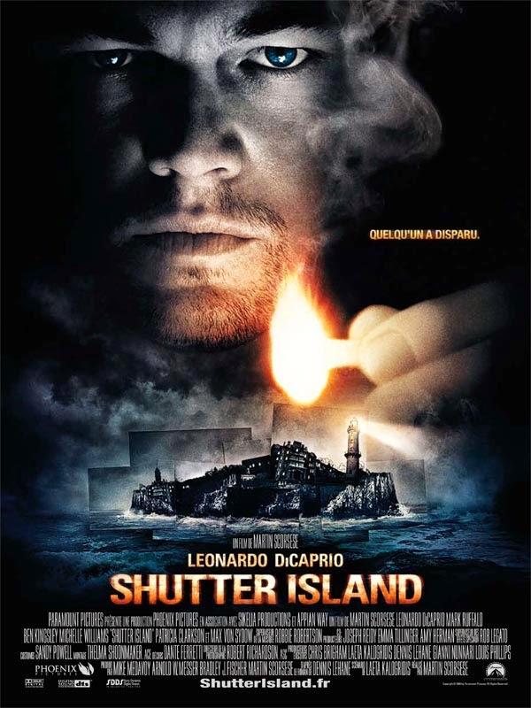 Affiche de Shutter Island, de Martin Scorsese