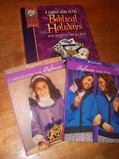 American Girl Rebecca and Biblical Jewish Holidays