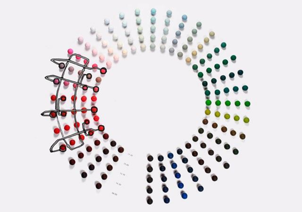 Hang it all from Vitra in new colors