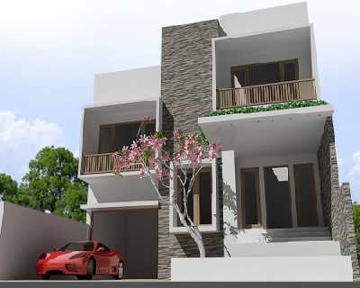 modern minimalist design house with 2 floors future home