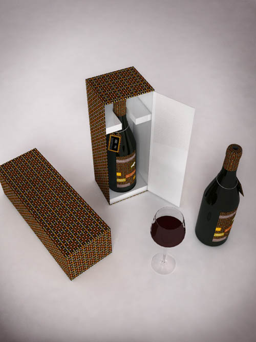 A+Bourgogne+wine+bottle+packaging+project47 55 Creative Wine Labels