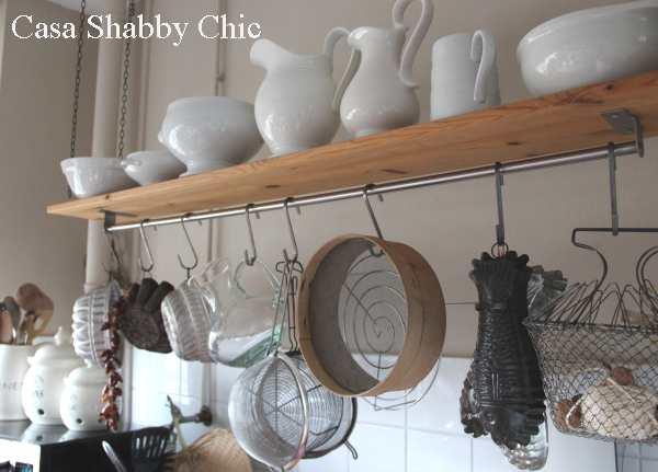 Shabby chic con amore casa shabby chic shabby chic on - Creare una cucina ...